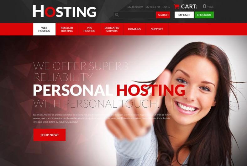 hosting psd template 788x532