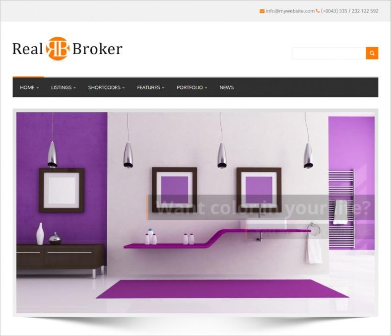 realbroker wordpress real estate 788x677