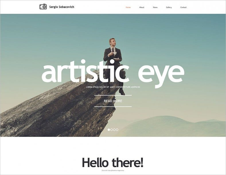 photographer portfolio responsive website template2 788x609
