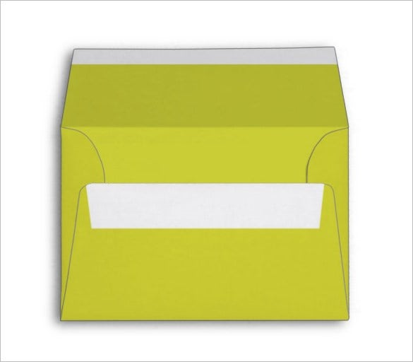 4x6 peer green envelope template download