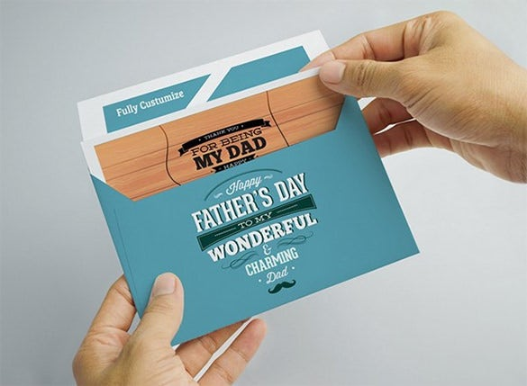 4x6 envelope template for fathers day