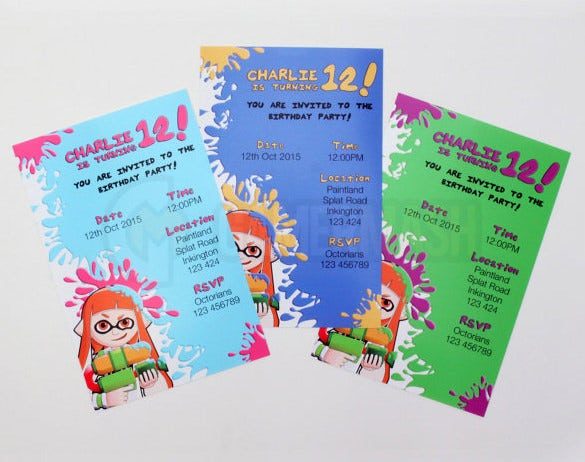 4x6 birthday invitation envelope template