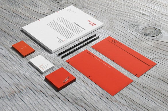 business envelope photoshop template download