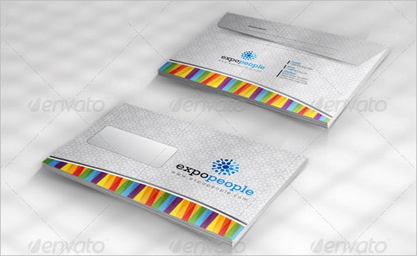 vector eps business envelope template