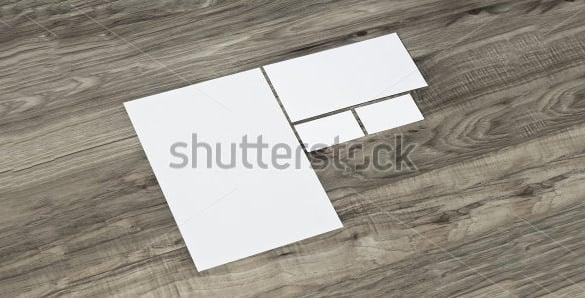 business envelope sample template