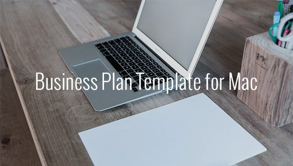 business plan template for mac 1