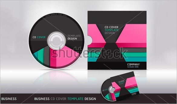 sample cd envelope template
