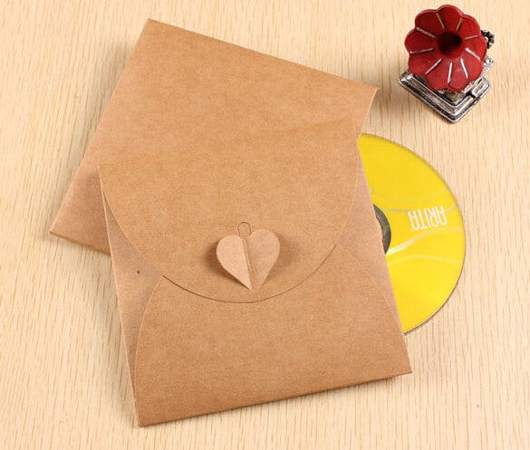 14  cd envelope templates
