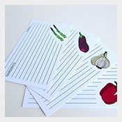 4 x 6 recipe index card template