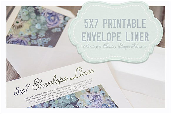 5x7 handy envelope liner template2