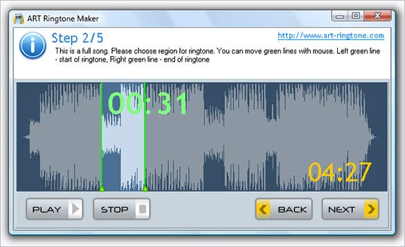 art ringtone maker