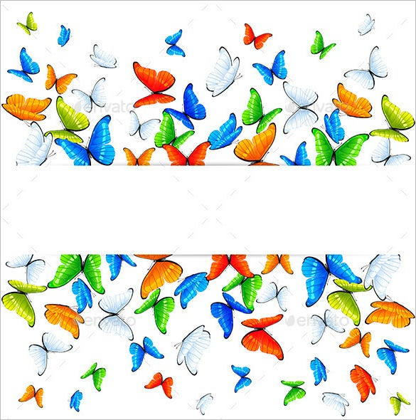 abstract butterfly background premium download