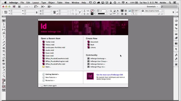 adobe indesign cs6 tutotial for beginners