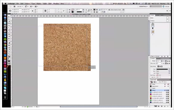 adobe indesign multiple images into one frame