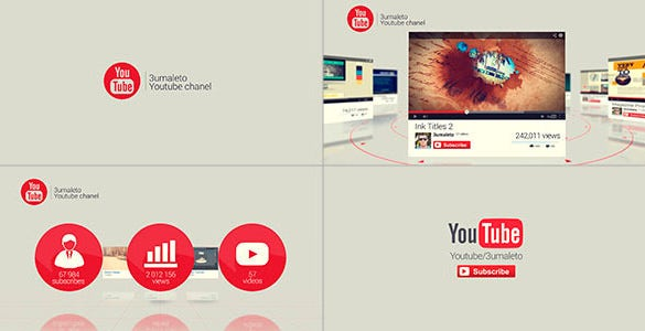after effect template for youtube download