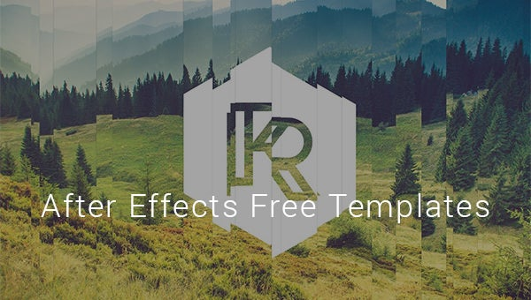 after effects free templates