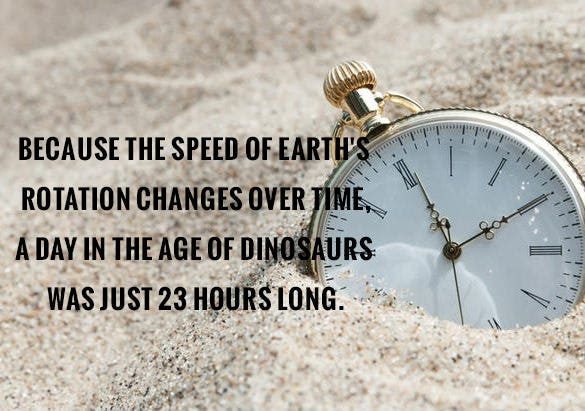 age of dinosaurs fact