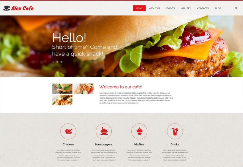 alex cafe wordpress theme 788x542