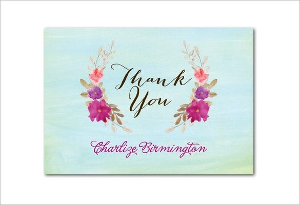 20  baby shower thank you cards
