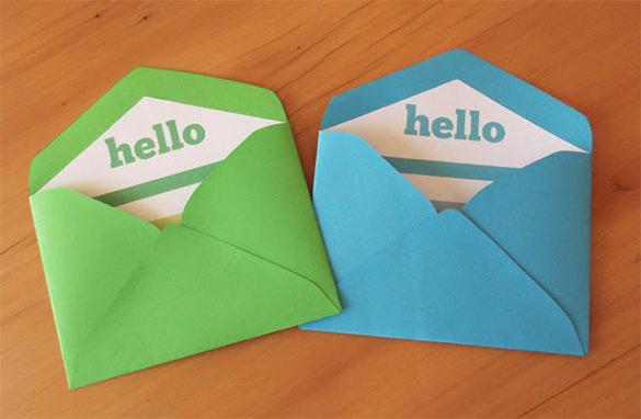 amazing envelope liner template download