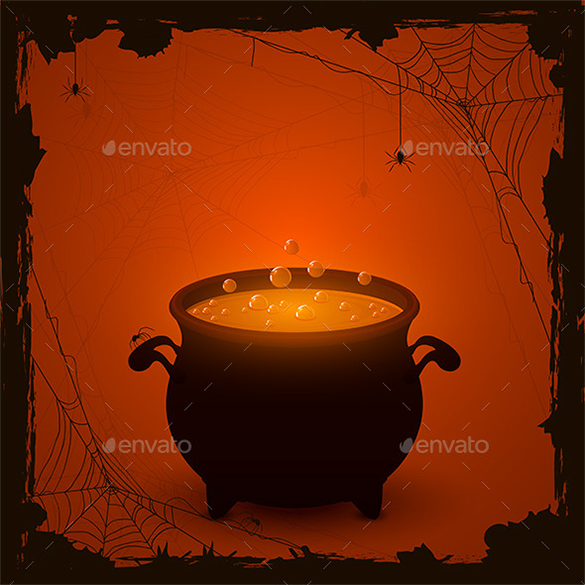 amazing premium halloween orange background