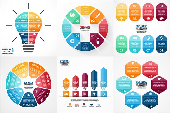 best infographic templates in psd/ vectors/ after effects, Powerpoint