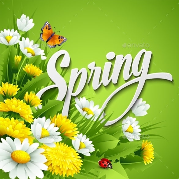 amazing premium spring background download