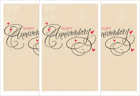 anniversary congratulations card