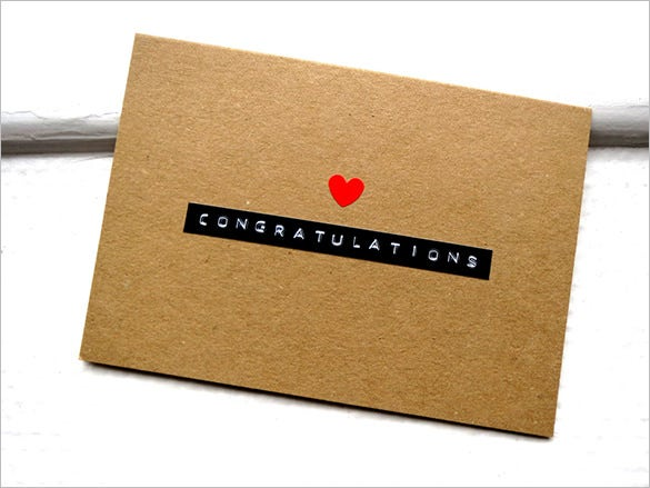 any occasion congratulations card template