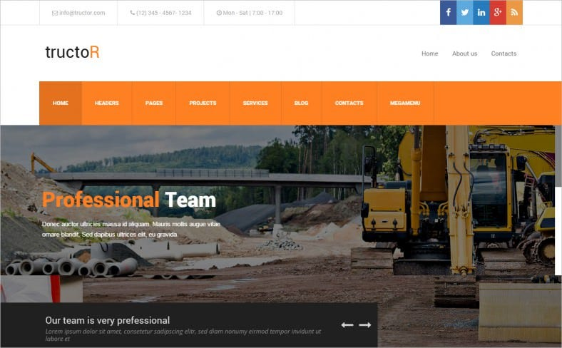 Architecture Business Website Template