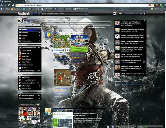 assassins creed iv black theme
