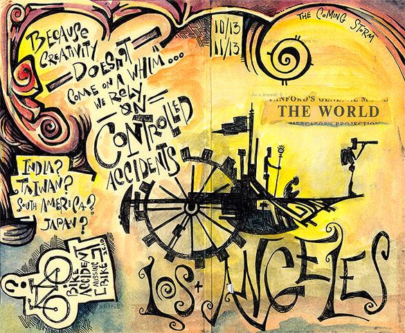 astonishing doodle art template