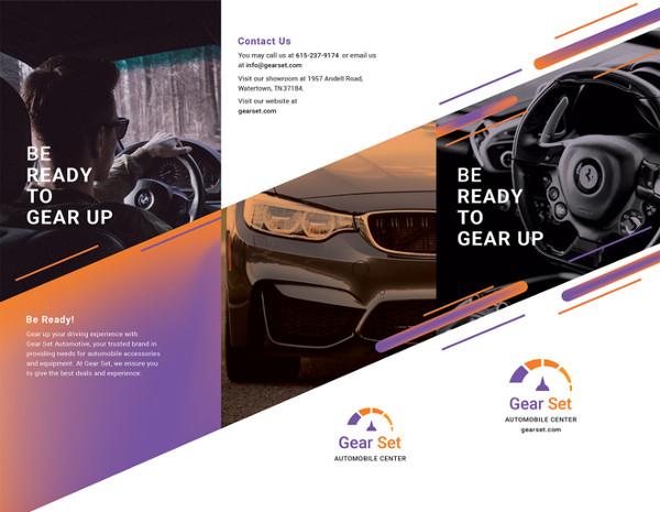 automotive-brochure-illustrator-template