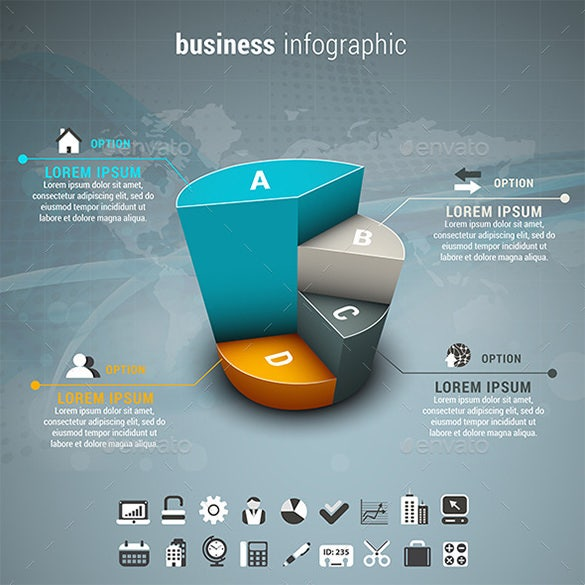 awesome business infographics premium download