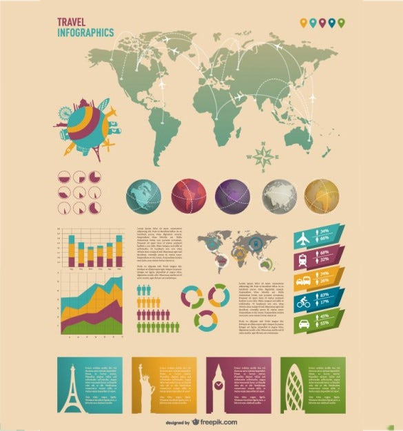 awesome infographic psd free download