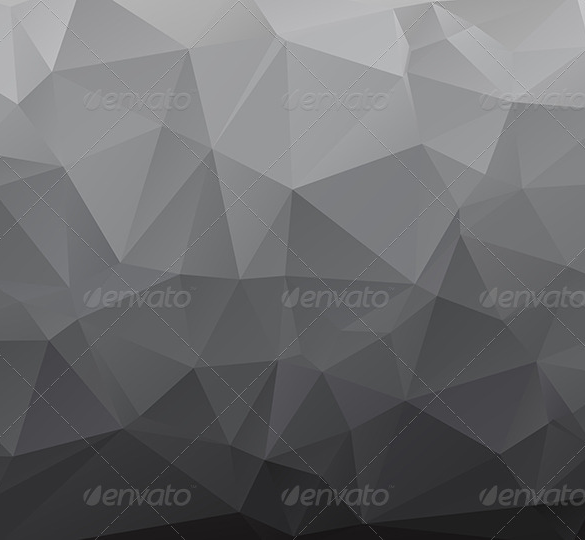 awesome polygon premium grey background