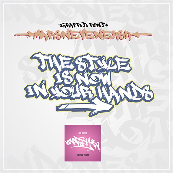 awsome graffiti letter download