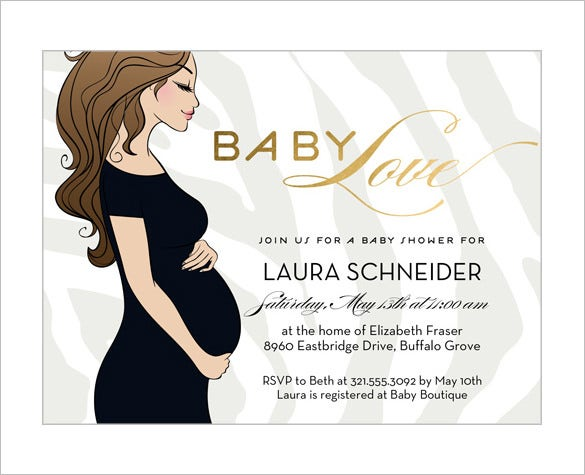 Baby Shower Card Template U2013 20+ Free Printable Word, Pdf, Psd, Eps
