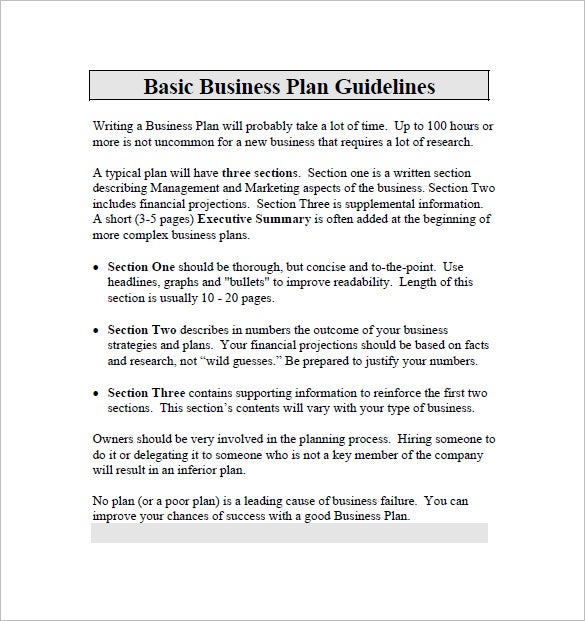 Business plan template 97 free word excel pdf psd indesign basic business plan for dummies flashek Images