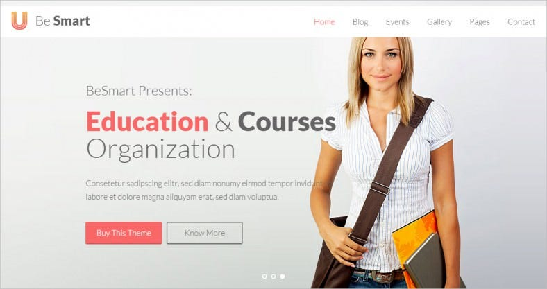 besmart education courses html template 788x417