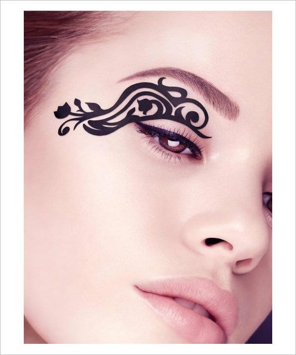 beautiful eye tattoo designs for women1