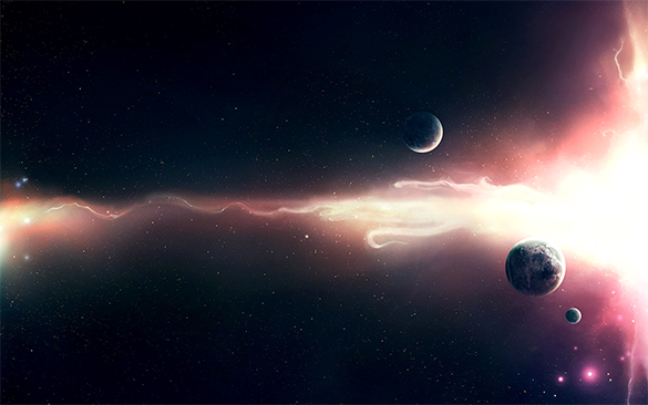 beautiful space background for free