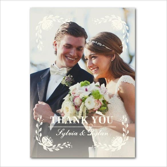 wedding gallery of simple wedding thank you cards pictures concept