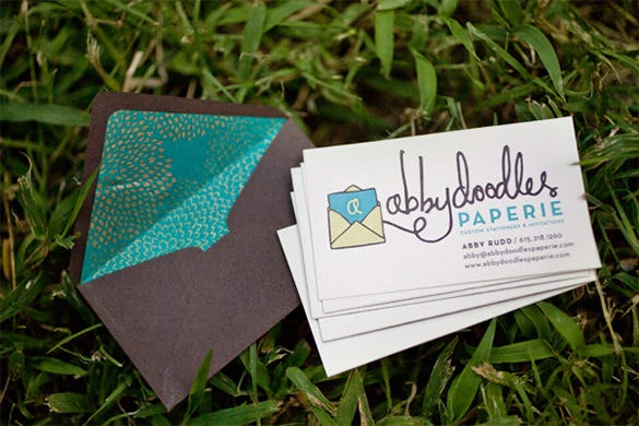 beautifully designed liner envelope