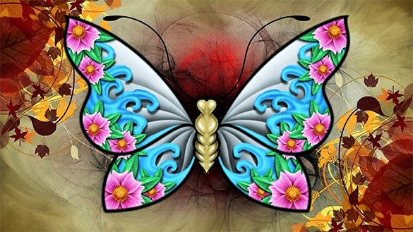 best butterfly background for free