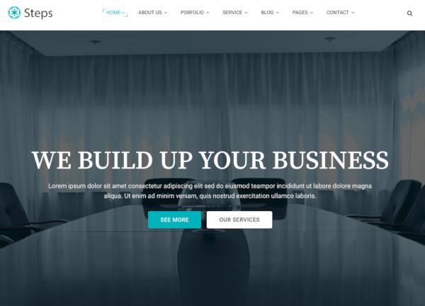 best-corporate-website-template