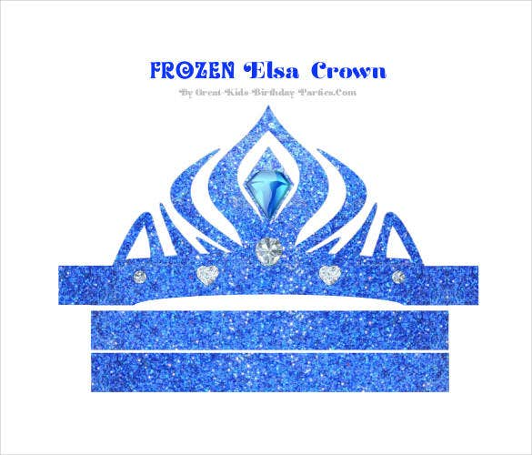 Paper Crown Template 21 Free Word Pdf Documents Free - elsa crown coloring page