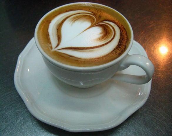 best heart coffee design