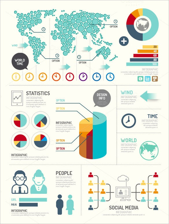 21+ Great Infographics | Free & Premium Templates