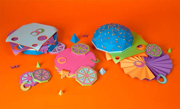 best paper folding craft free download